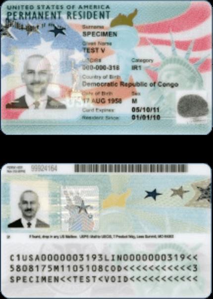 Este artículo responde la pregunta: ¿Cómo puedo saber cuándo me llega mi Green Card?. La imagen es ilustrativa.
