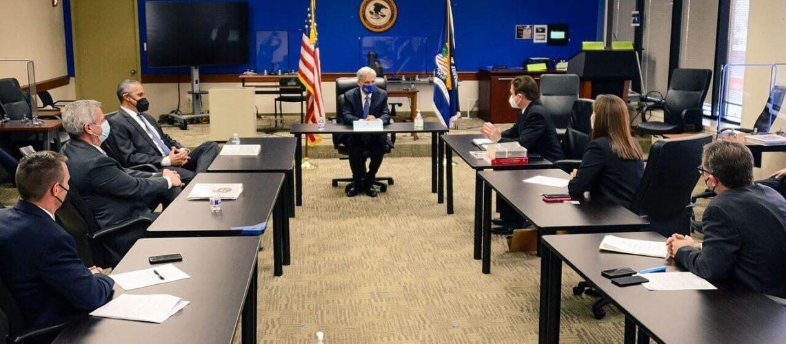 En la nota informamos sobre la situación de los Jueces de la Corte de Inmigración. La imagen es del fiscal general Merrick Garland.